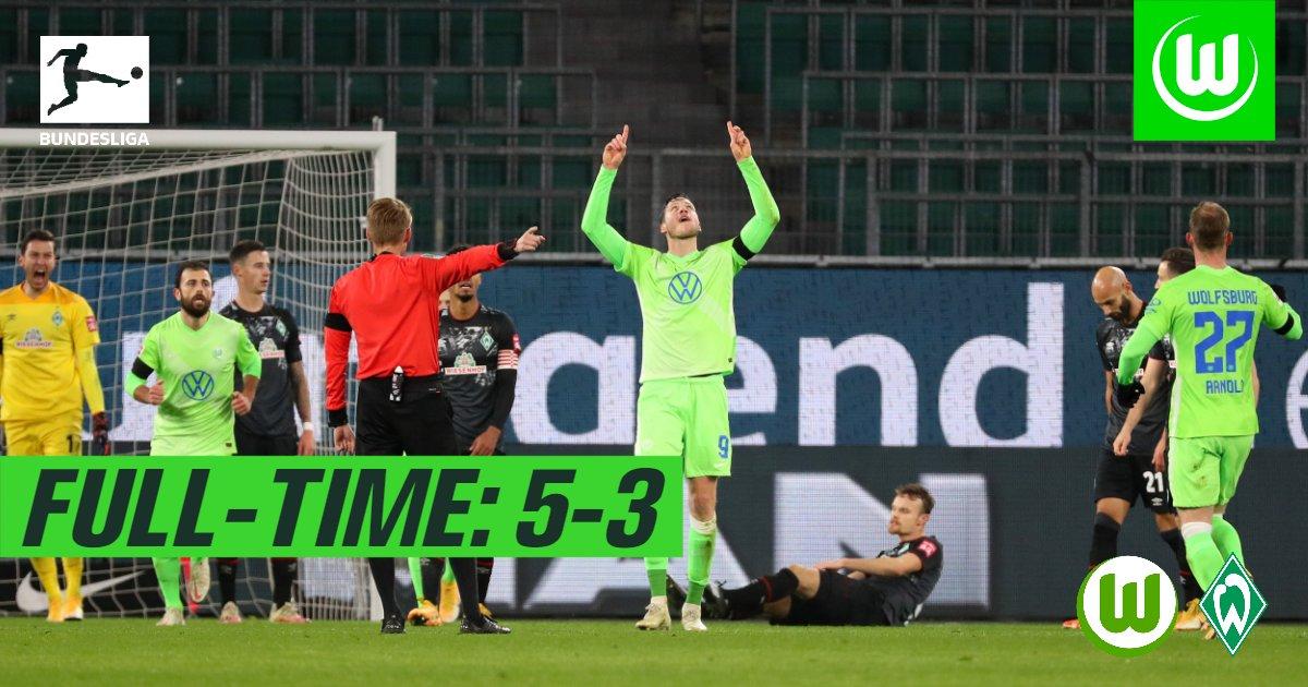 5-3!前德甲冠军终于爆发:3连胜+9轮不败,只落后拜仁2分