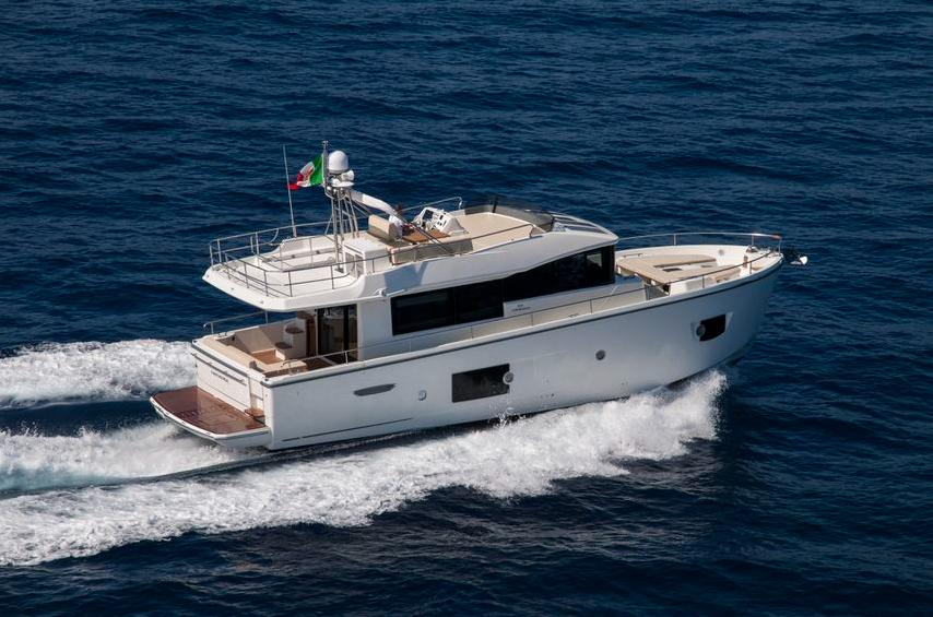 勾勒远航新蓝图,意大利卡兰奇Cranchi环保家庭巡航艇