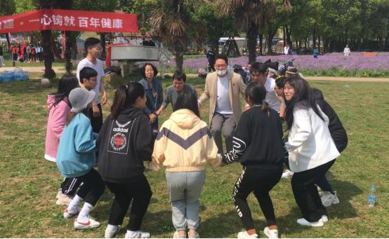 """2021年""""踏青团建,欢乐聚情""""梅氏健康集团后勤春季huhuo'd活动"""