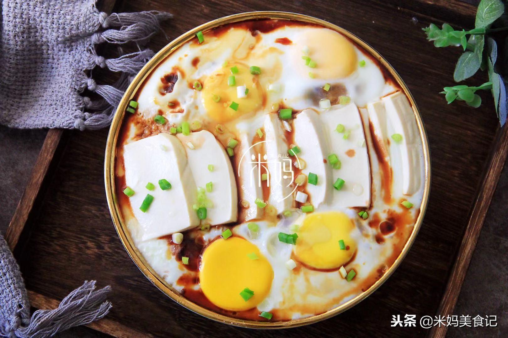 肉末豆腐抱鸡蛋做法步骤图 比牛奶好吸收孩子要多吃!