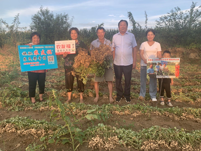 河南省科技特派員李振賢率領科研團隊赴南陽調研科學施肥效果