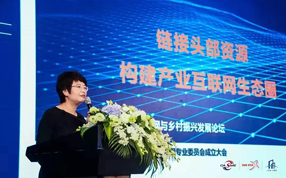 王玉荣:链接头部资源 构建产业互联网生态圈