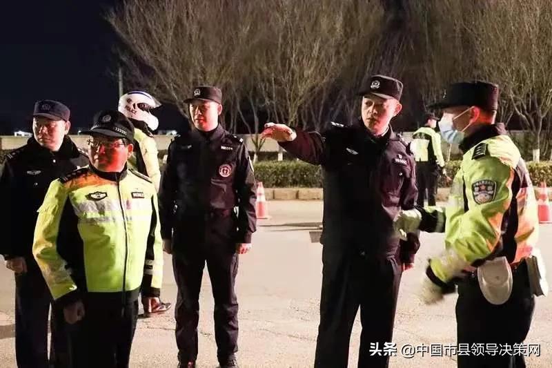 江苏响水县副县长、公安局长纪劲松督导检查路面巡逻防控工作