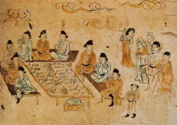 """萬國拜冕琉——絲綢之路的""""老照片"""":唐墓壁畫裡的胡漢交融盛況"""
