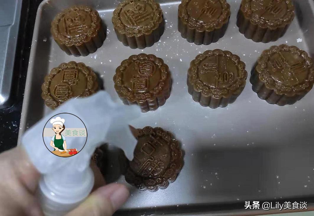 原来做月饼这么简单,配方简单零添加,比买的还香,一次性就成功