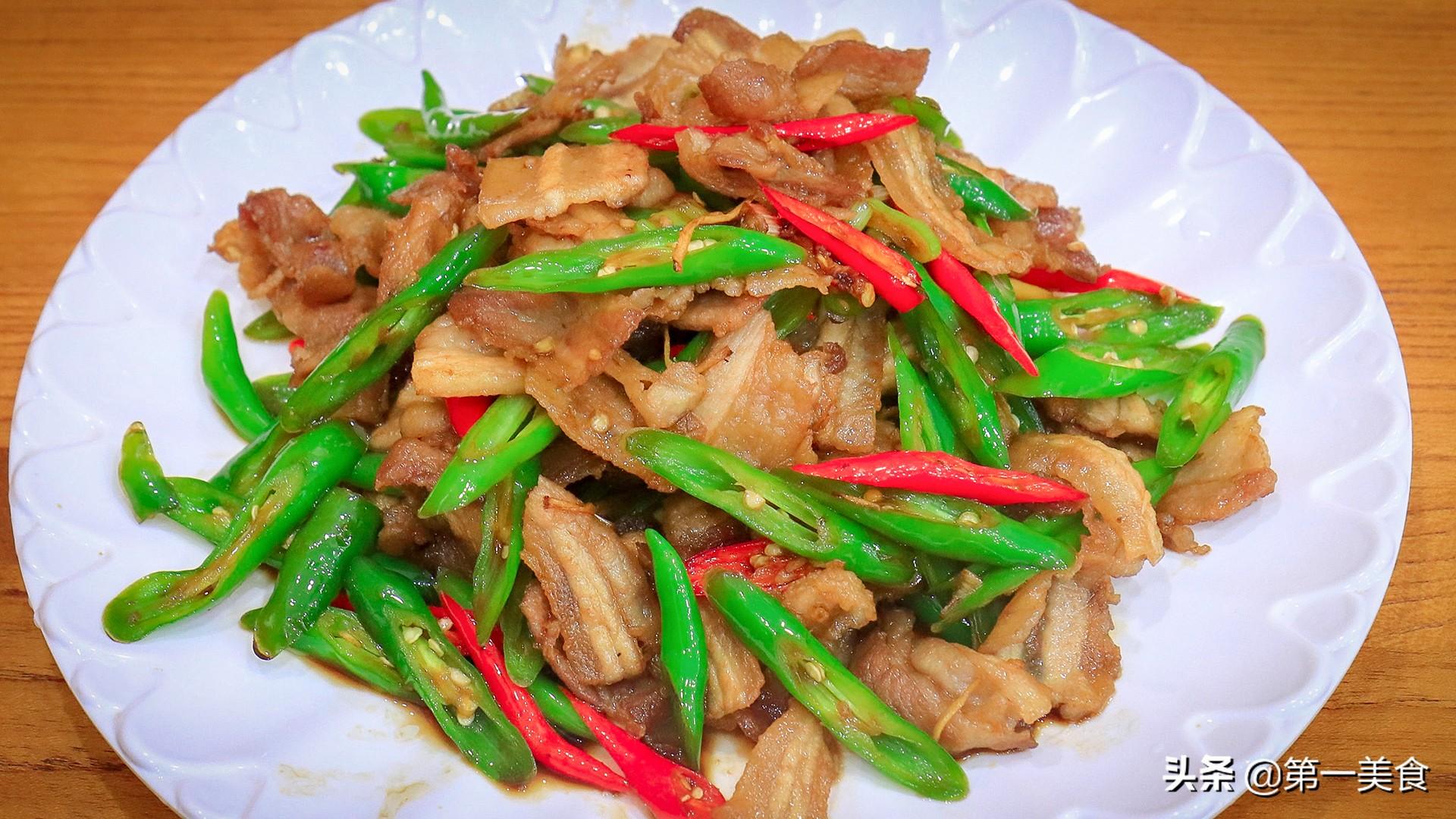 小炒肉怎么做才好吃,掌握这几个窍门,肉片焦香不油腻,香辣下饭