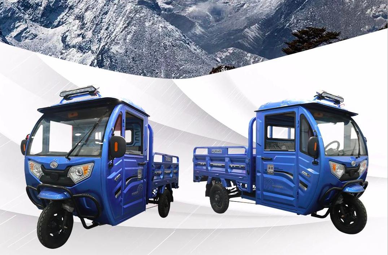金彭、淮海的电动三轮车,半封闭能遮风挡雨,最少载重800公斤