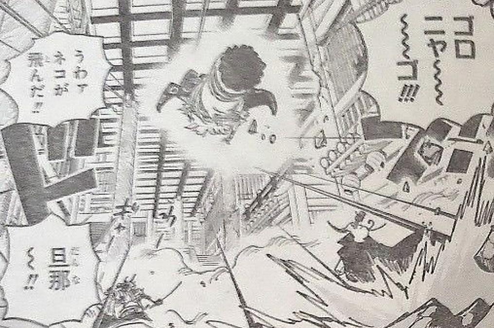 海賊王1012話,貓蝮蛇得知佩德羅死了後,暴走,要殺了佩羅斯佩羅