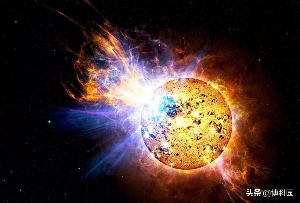 """罕见的""""超级耀斑""""有一天将会威胁到地球?"""