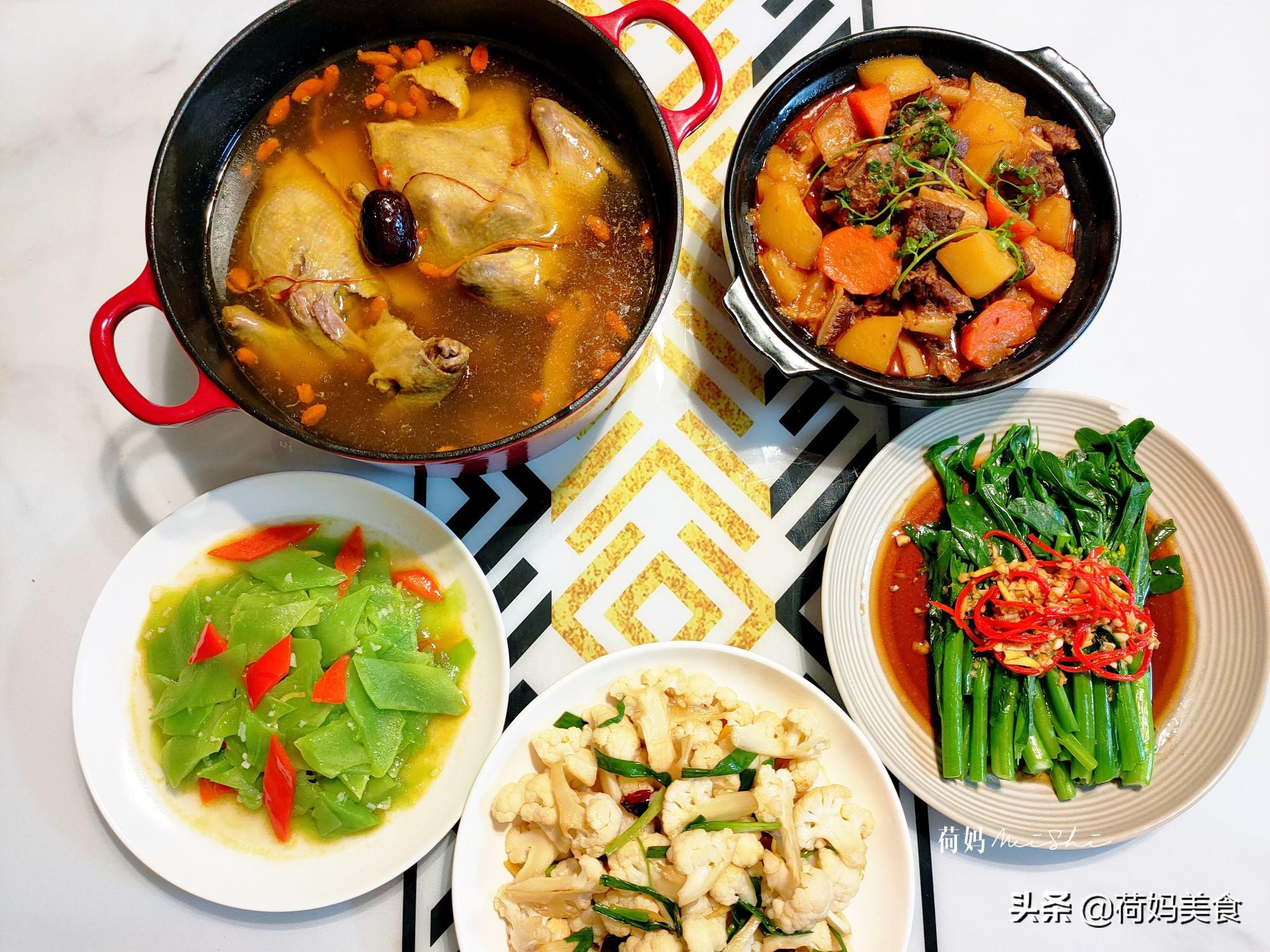 晒晒妈妈用心做的晚餐,四菜一汤真丰盛,简单家常、营养味美 美食做法 第7张