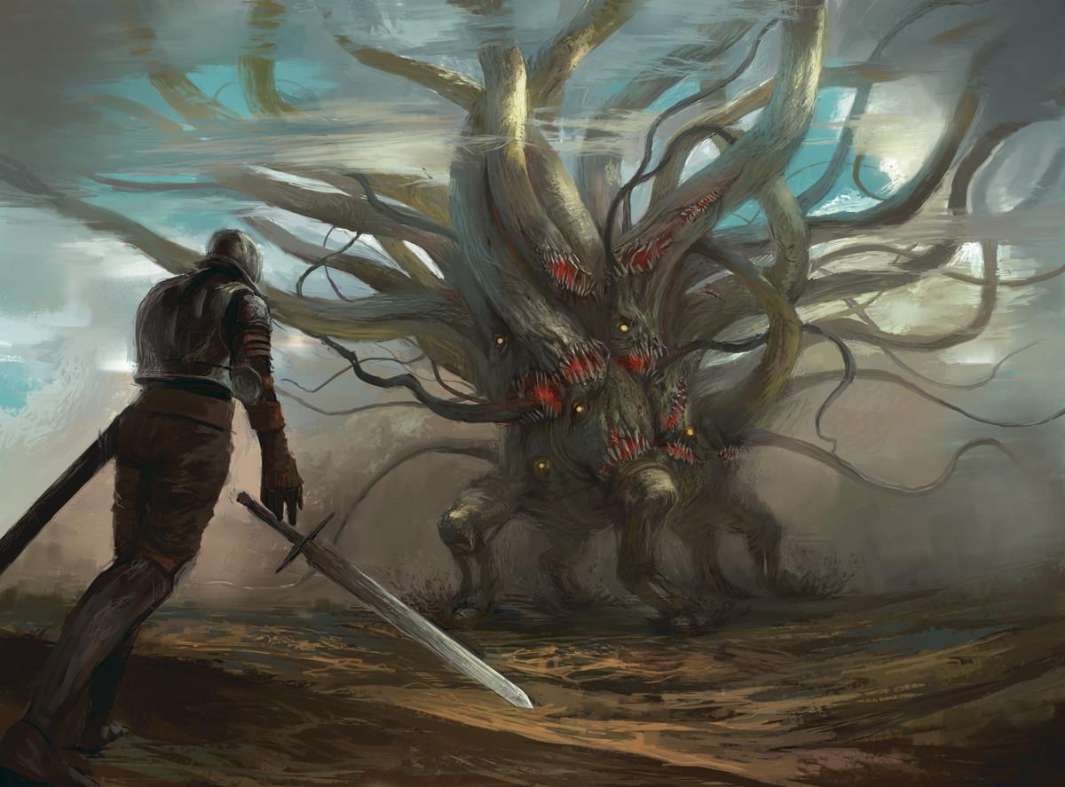 克苏鲁神话生物——黑山羊幼仔