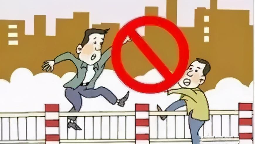 @所有人 机动车礼让行人≠行人可以乱穿马路