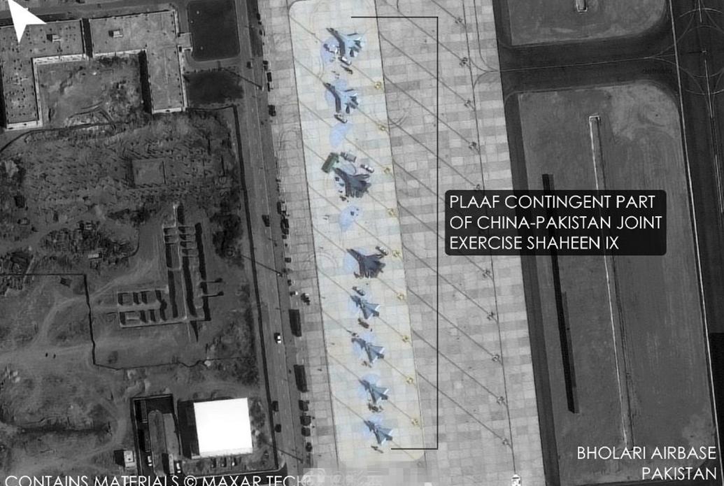 印媒:中巴空军演习目标明显,130万印军部队随时可以两线作战