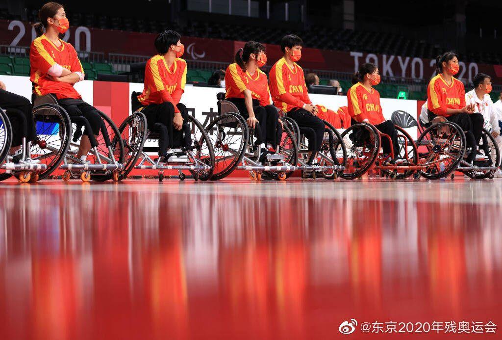 残奥会-中国轮椅女篮16分大逆转美国 夺4连胜锁定小组第一