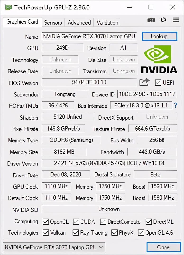 GeForce RTX 3070到底有多香?神舟战神TX9-CA5DP游戏本告诉你