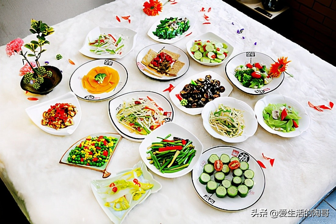 4月美食天,4道素菜巧搭配,好吃好做,味道不输荤菜,还不易长肉