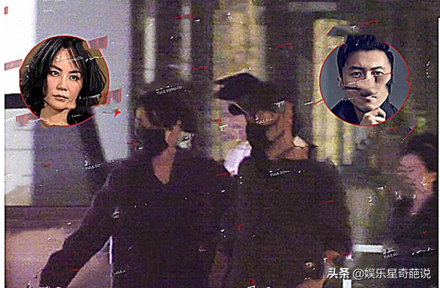 谢霆锋王菲与友聚餐后返回,牵手动作与二十年前相同,赵薇:值得