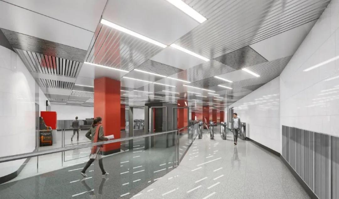 """莫斯科地铁将现""""中国风"""",这配色绝对很中国了"""