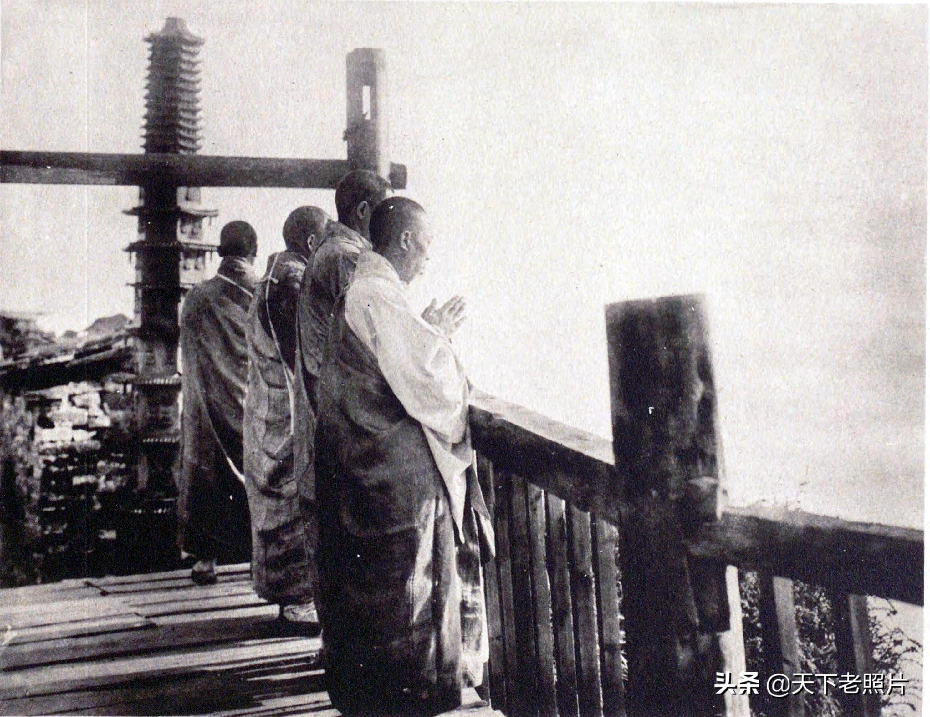 1920年代四川峨眉山老照片 一览峨眉山百年前的景象