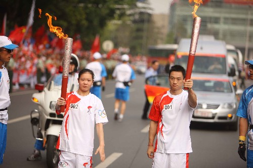 看到东京想北京,零八武汉过奥运