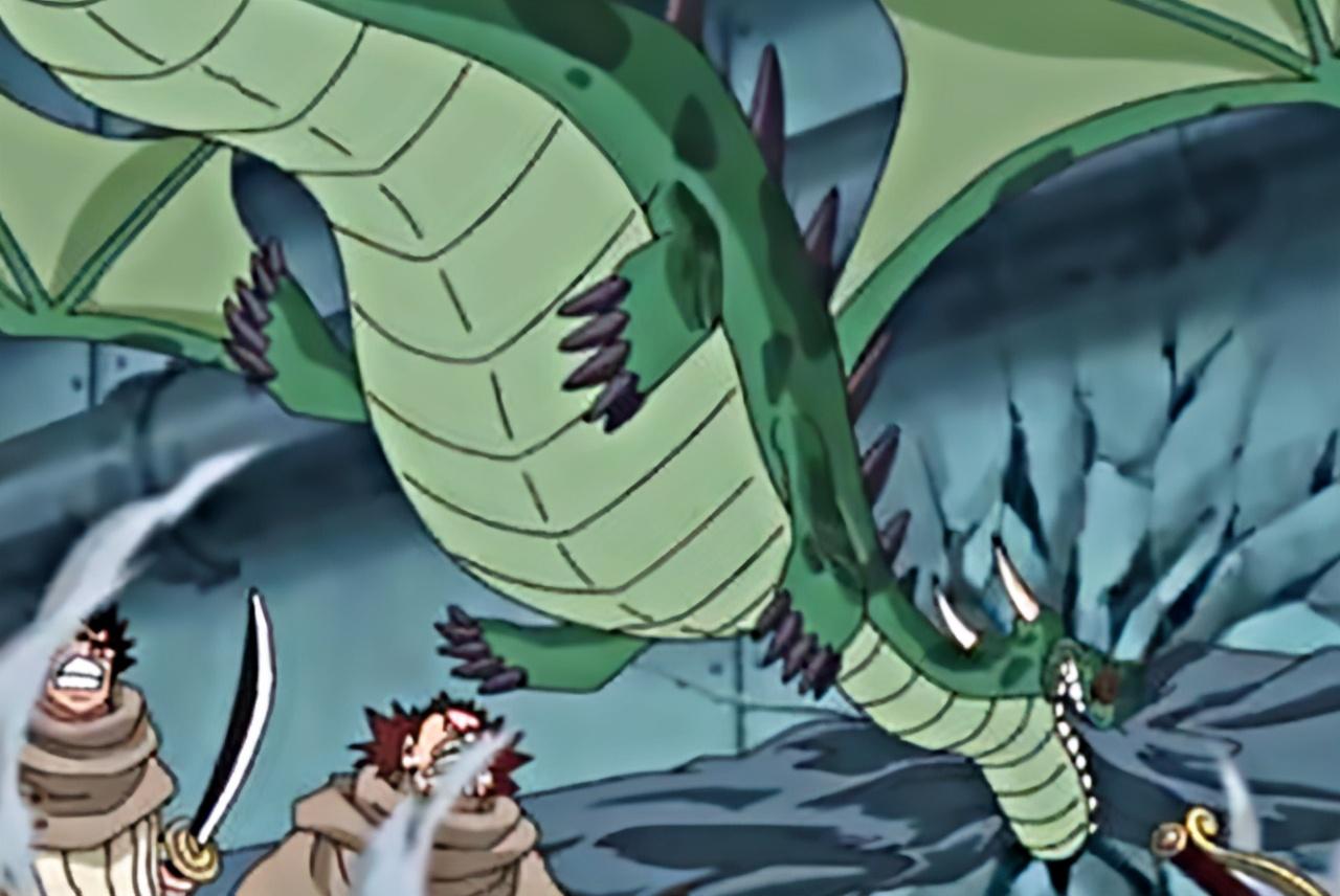 海賊王裡的9種龍,能力者可以變成龍人形態,人造龍能力相當厲害