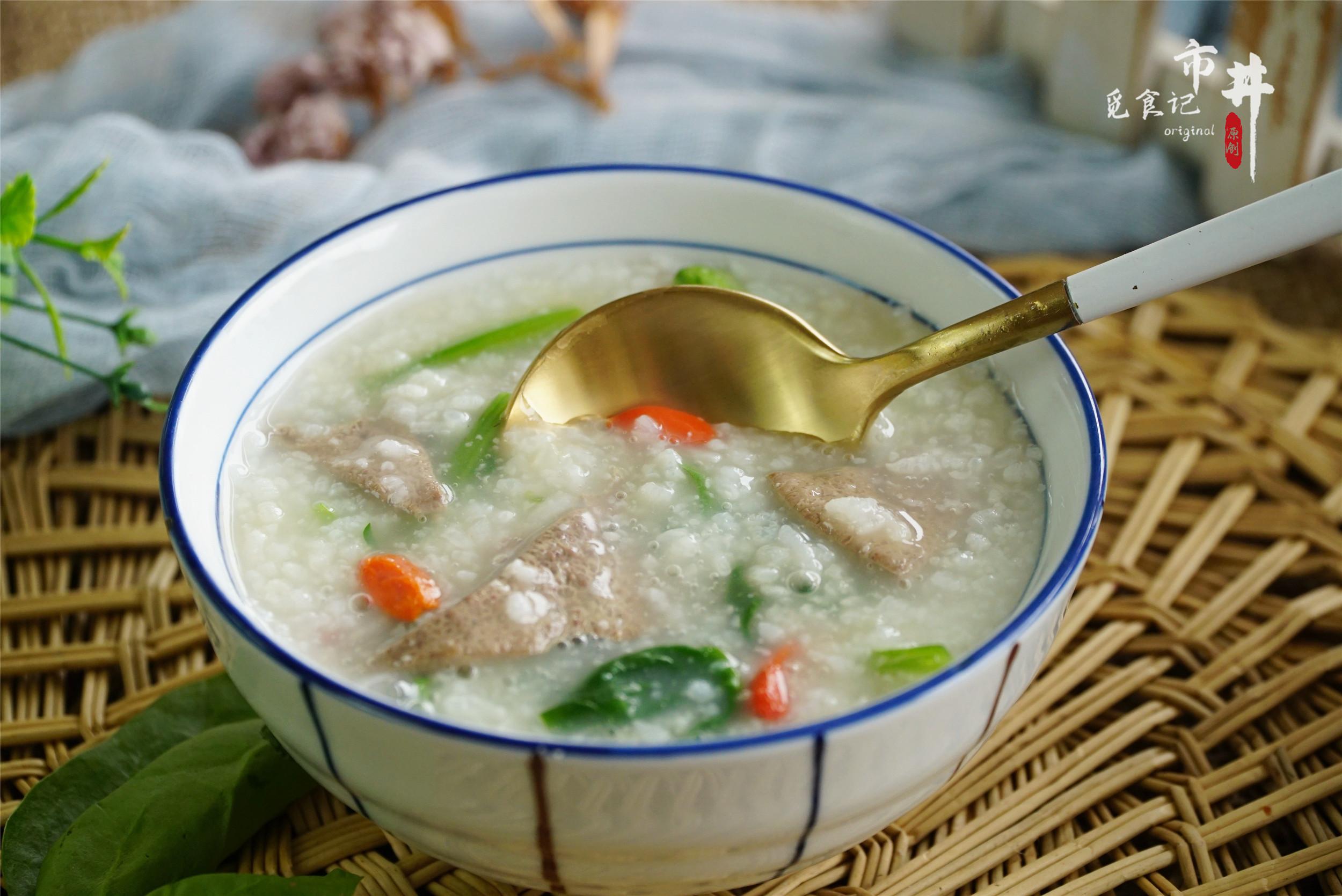 春天要常喝粥,大米加豬肝這樣煮,溫和更有營養,熬一鍋特香