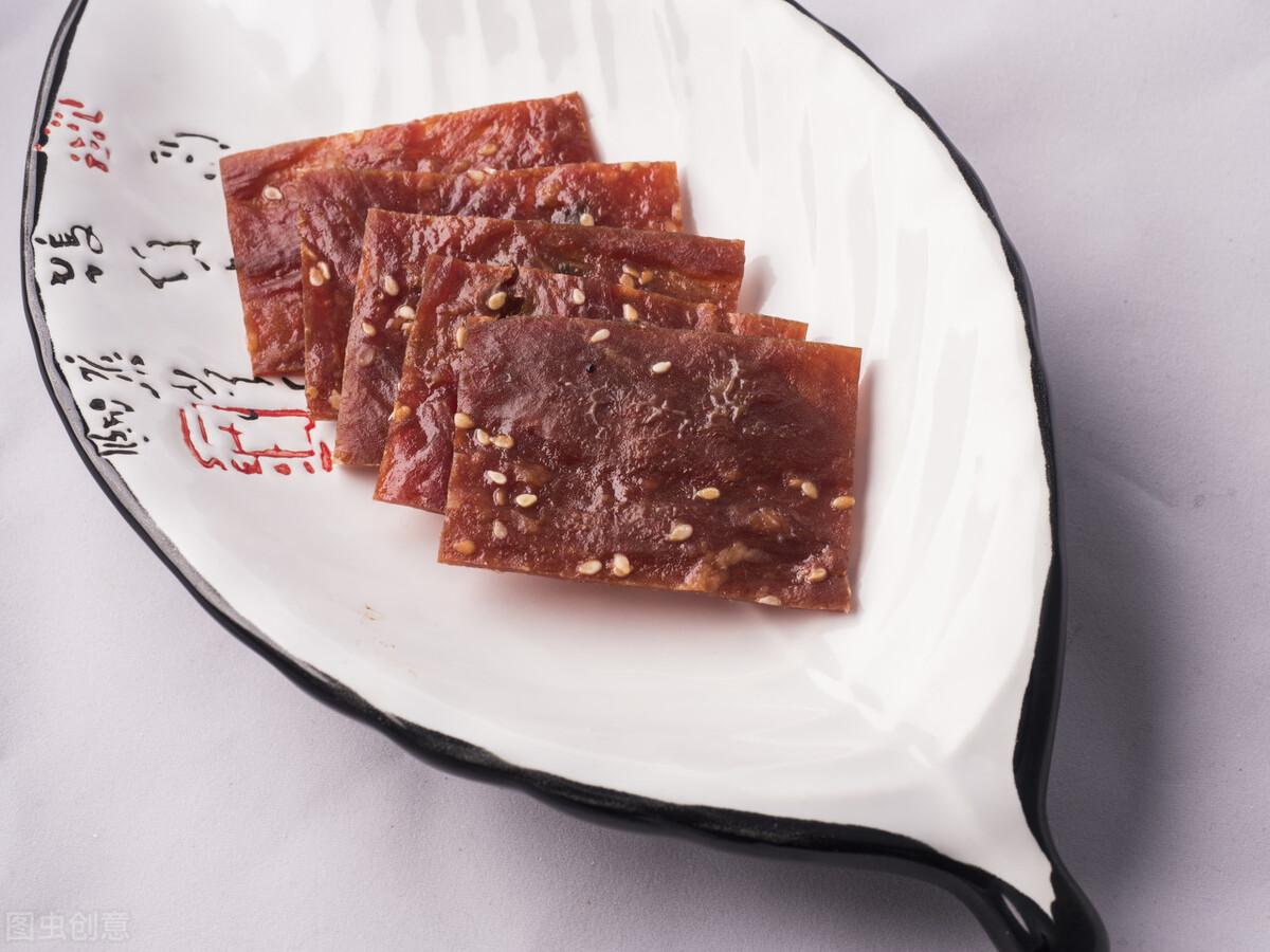 自制猪肉脯太简单,成本也很低,好吃不腻营养高,夏天多给孩子吃 美食做法 第2张