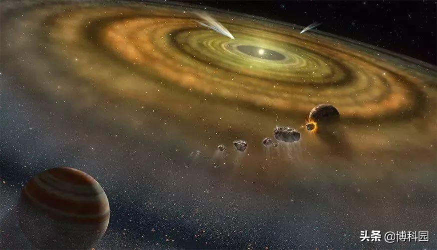 地球和火星,木星和土星,由不相同的物质组成,太阳系被分割了?
