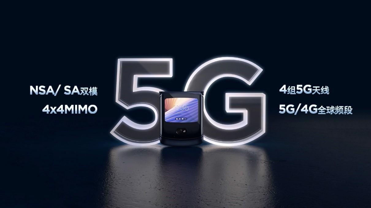 摩托罗拉启动未来,刀锋5G折叠手机强势归来