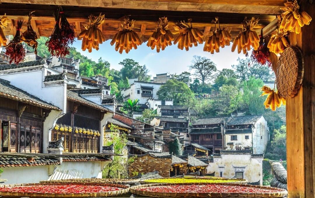最能代表徽州秋天的8个古村落,每一个都美成仙境,国庆不容错过