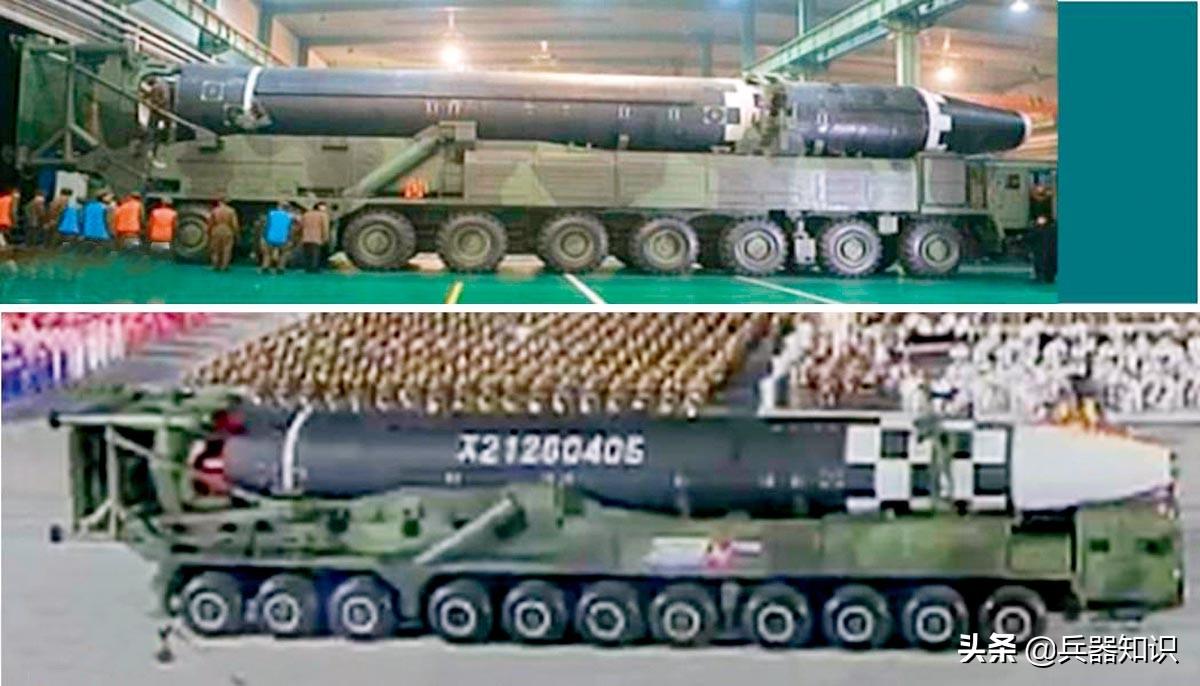 """朝鲜""""火星""""16弹道导弹 尺寸已超""""白杨""""M"""