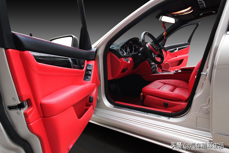 奔驰C200内饰改装玩转个性与魅力