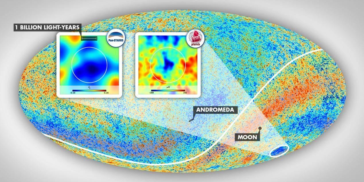 """如何解释可观测宇宙中的""""低温点"""""""