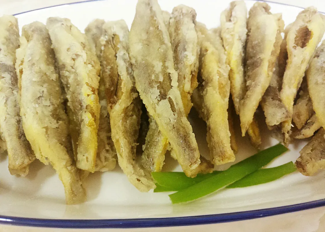 超简单的油炸小黄鱼 美食做法 第9张