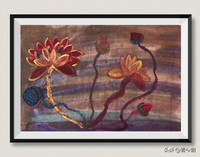 李少林和她的心灵之画
