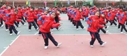 江苏滨海县蔡桥中心小学开展书香校园传统文化建设