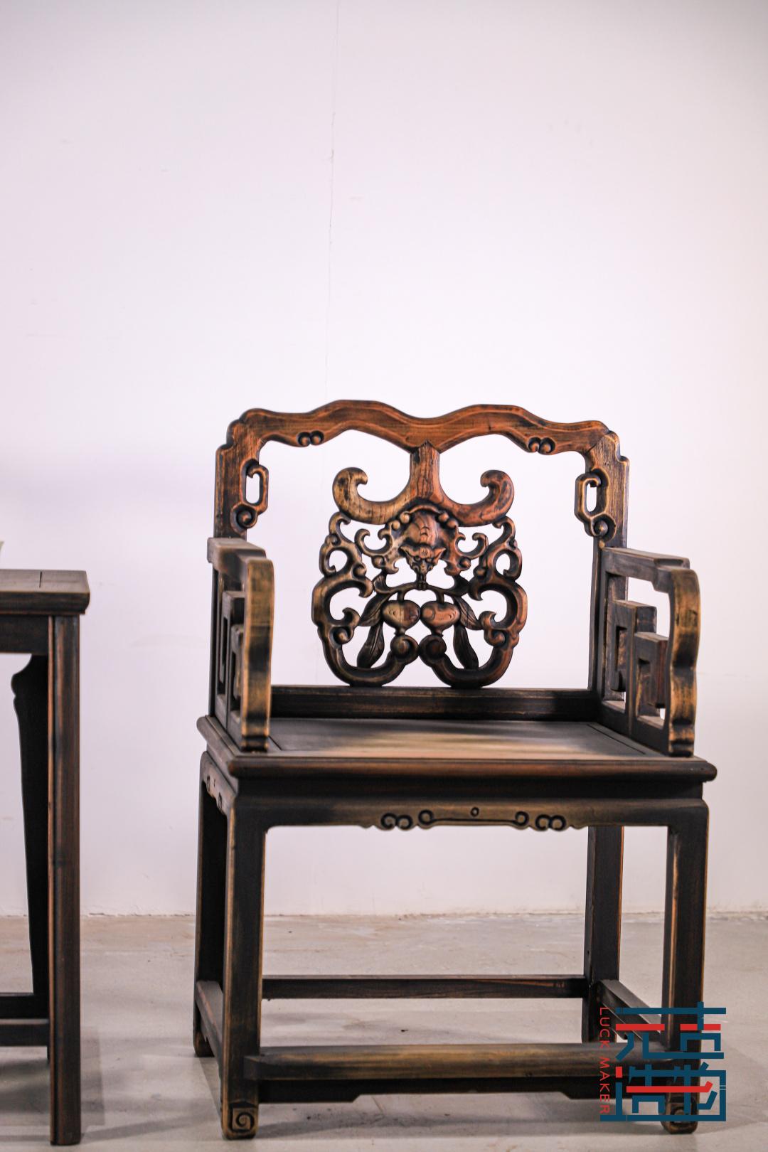 太师椅:师出有名,君子之风