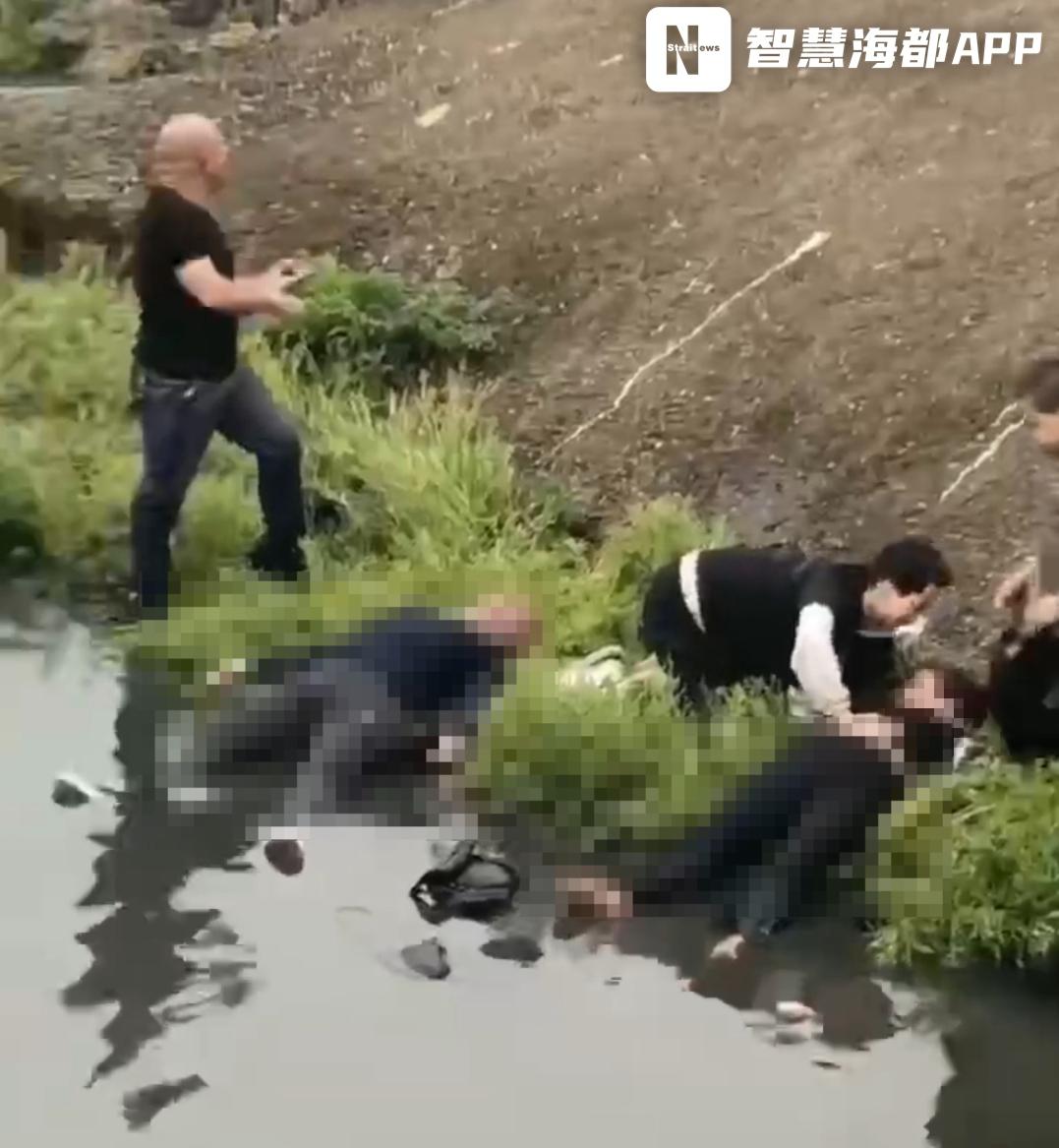 突发!福建一小车坠溪!一家5口返乡扫墓,3人不幸溺亡