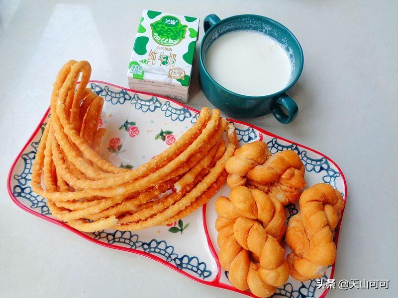 晒晒新疆人的早餐,简单又营养 早餐 第4张