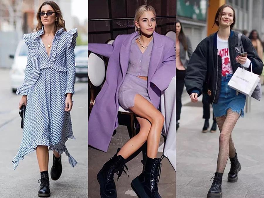 """运动鞋烂大街了,今冬流行""""瘦腿靴"""",踩出街时髦又显瘦"""