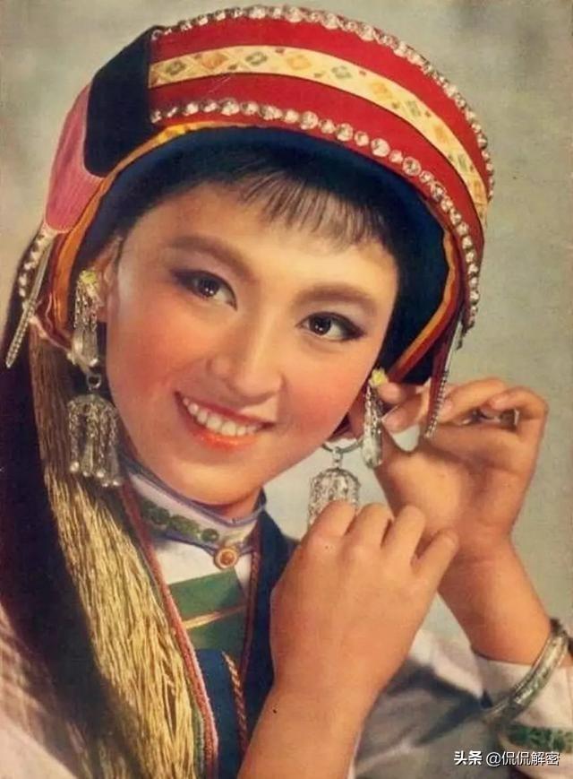 """被誉为""""美神""""的杨丽坤究竟有多美?这组绝版老照片足以见证"""
