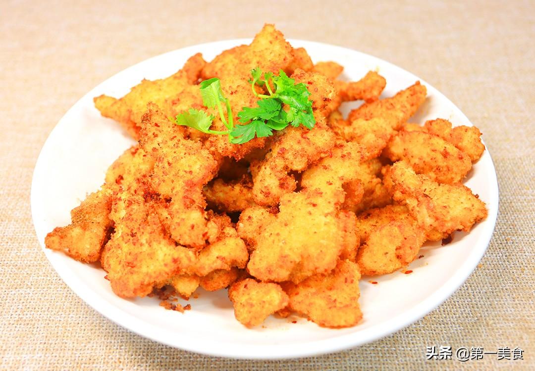 【炸鸡柳】做法步骤图 外酥里嫩 金黄焦酥