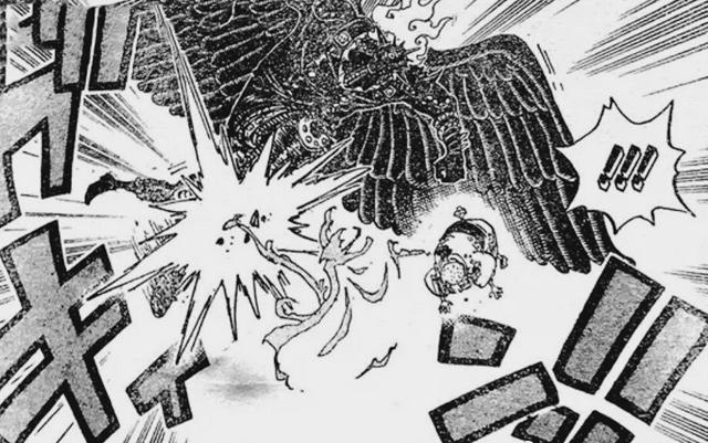 海賊王988:月獅毛皮族復仇旱災傑克,隱形黑山治VS無齒翼龍燼