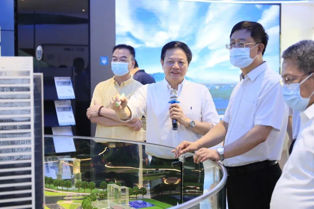 市委常委、统战部部长王世彤带队莅临广州归谷科技园考察调研