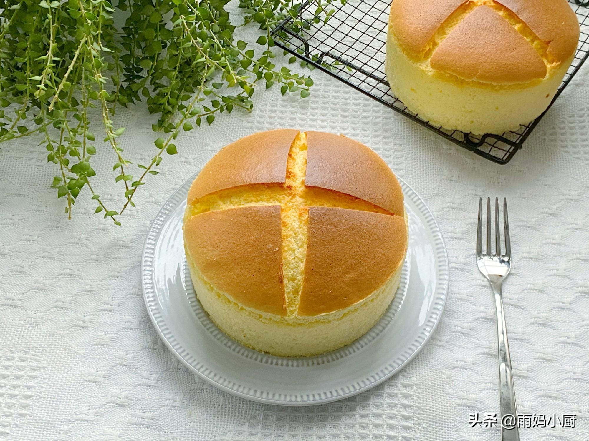 喜歡吃蛋糕,一定不要錯過這款,蓬鬆柔軟又美味,比原味戚風好吃