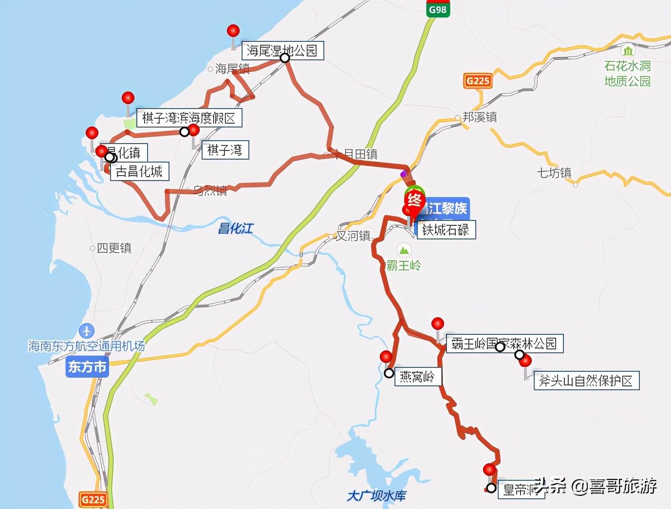 海南昌江十大景区是哪些?自驾游玩如何安排行程?