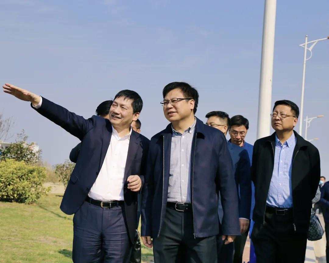 福州市副市長林中麟帶隊至申遠新材料一體化產業園調研
