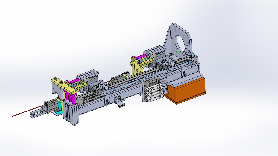 gripper for paletizing机器人码垛夹具3D数模图纸 Solidworks