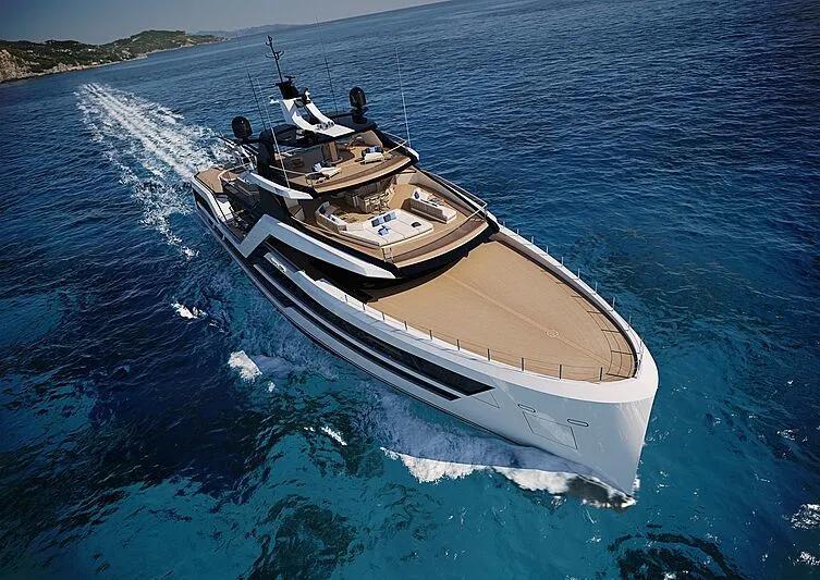 混合动力探险游艇概念,意大利推出65米探险艇Vanguard