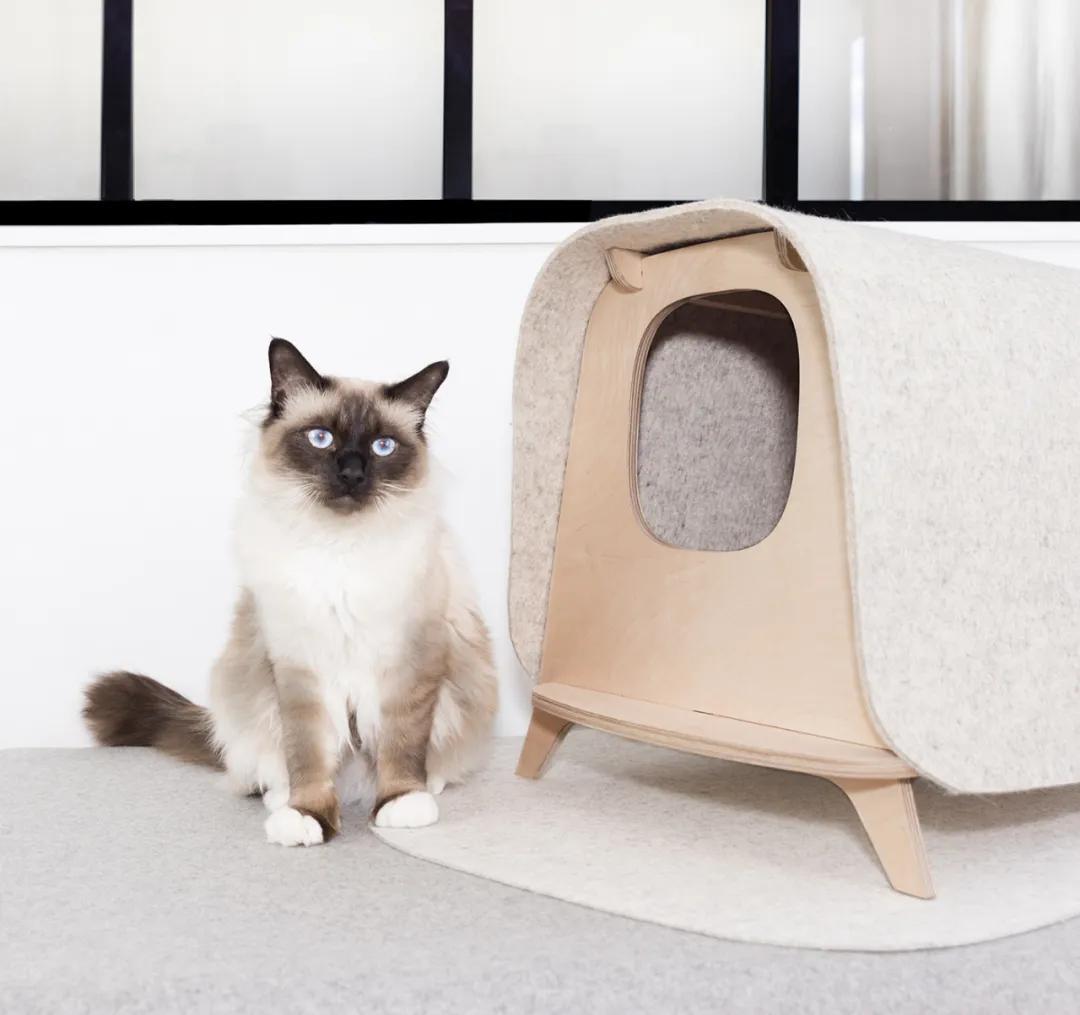 """奢华又极具设计感的猫咪""""豪宅"""""""